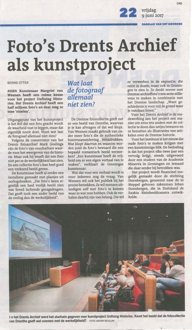 artikel DvhN 9 juni 2017